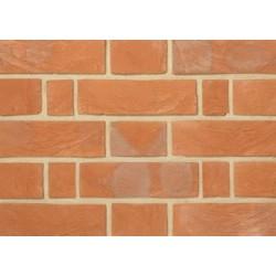 Charnwood Forest Brick Dark Victorian Red 67mm Handmade Stock Red Light Texture Clay Brick