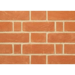 Charnwood Forest Brick Farnham Red 65mm Handmade Stock Red Light Texture Clay Brick