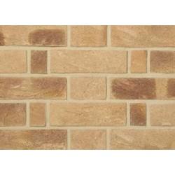 Charnwood Forest Brick Golden Russet 65mm Handmade Stock Buff Light Texture Clay Brick
