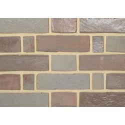 Charnwood Forest Brick Grey Mixed Glaze 65mm Handmade Stock Grey Light Texture Clay Brick