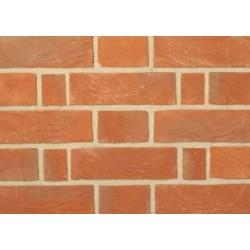 Charnwood Forest Brick Horsham Red Multi 65mm Handmade Stock Red Light Texture Clay Brick