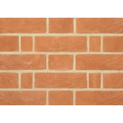 Charnwood Forest Brick Light Victorian Red 65mm Handmade Stock Red Light Texture Clay Brick