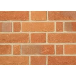 Charnwood Forest Brick Oaklands Ruftec 65mm Handmade Stock Red Light Texture Clay Brick