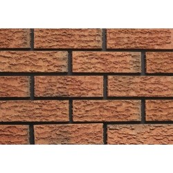 Kingscourt Clay Products Bark Rustic 65mm Wirecut Extruded Red Heavy Texture Clay Brick