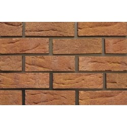 Kingscourt Clay Products Swan Brindle 65mm Wirecut Extruded Red Light Texture Brick