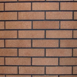 Crest Autumn Brown Sandfaced 65mm Wirecut  Extruded Brown Light Texture Clay Brick