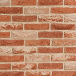 Crest Belle Epoque 65mm Wirecut  Extruded Red Light Texture Clay Brick