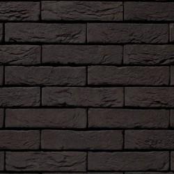 Crest Black Manganese 65mm Machine Made Stock Black Heavy Texture Clay Brick