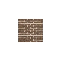 Crest Brown Manganese 50mm Machine Made Stock Brown Light Texture Clay Brick