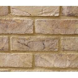 Hoskins Brick Anglesey Weathered Buff 65mm Machine Made Stock Buff Light Texture Clay Brick