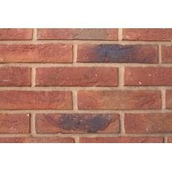 Hoskins Brick Autumn Red 50mm Machine Made Stock Red Light Texture Clay Brick