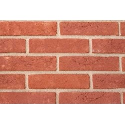 Hoskins Brick Bordeaux 50mm Machine Made Stock Red Light Texture Clay Brick