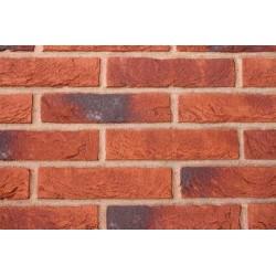 Hoskins Brick Brabant 50mm Machine Made Stock Red Light Texture Clay Brick