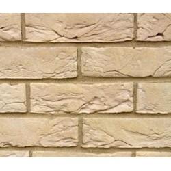 Hoskins Brick Bramshaw Buff 50mm Machine Made Stock Buff Light Texture Clay Brick