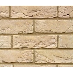 Hoskins Brick Bramshaw Buff 65mm Machine Made Stock Buff Heavy Texture Clay Brick
