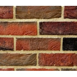 Hoskins Brick Bromley Red Multi 50mm Machine Made Stock Red Heavy Texture Clay Brick