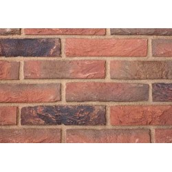 Hoskins Brick Bromley Red Multi 65mm Machine Made Stock Red Heavy Texture Clay Brick