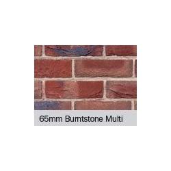 Hoskins Brick Burntstone Multi 65mm Machine Made Stock Red Light Texture Clay Brick