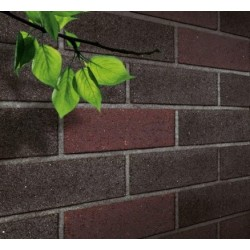 Blockleys Black Mosaic 65mm Wirecut  Extruded Black Light Texture Clay Brick
