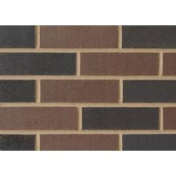 Blockleys Capital Dark Blend 65mm Wirecut  Extruded Black Smooth Brick