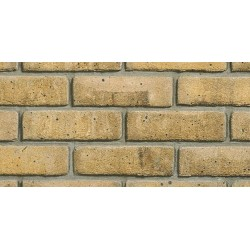 Heritage Collection Blockleys Kensington Yellow Multi 65mm Machine Made Stock Buff Light Texture Brick