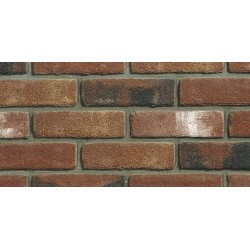 Heritage Collection Blockleys Shropshire Blend 65mm Machine Made Stock Red Light Texture Brick