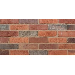 Clamp Range Furness Brick Ember Blend Imperial 80mm Pressed Red Light Texture Clay Brick