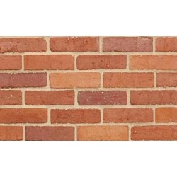 Clamp Range Furness Brick Mellow Russet 73mm Pressed Red Light Texture Clay Brick