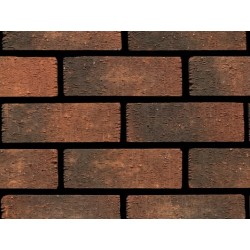 Ibstock Anglian Ruskin Multi 73mm Wirecut Extruded Red Light Texture Clay Brick