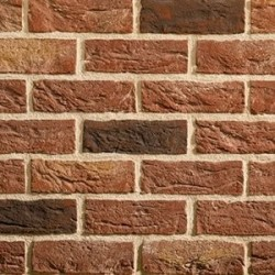Traditional Brick & Stone Audley Antique 50mm Machine Made Stock Red Light Texture Clay Brick