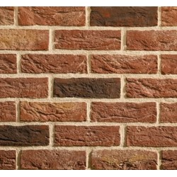Traditional Brick & Stone Audley Antique 65mm Machine Made Stock Red Light Texture Clay Brick