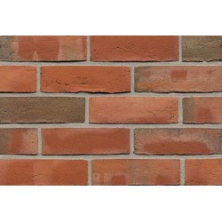 BEA Clay Products Sexton Flame 65mm Waterstruck Slop Mould Red Light Texture Brick