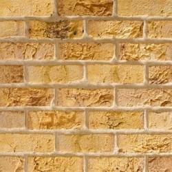 Traditional Brick & Stone Belgravia Yellow Multi 65mm Machine Made Stock Buff Light Texture Clay Brick