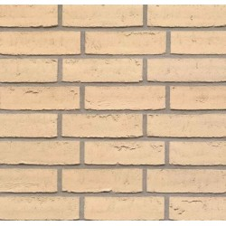 BEA Clay Products Sexton Ivory 65mm Waterstruck Slop Mould Buff Light Texture Brick