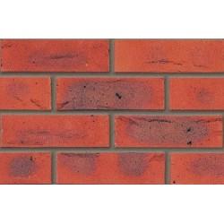 Butterley Hanson Arden Red Multi 65mm Wirecut Extruded Red Light Texture Brick
