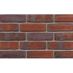 BEA Clay Products Sexton Sorrento 65mm Waterstruck Slop Mould Red Light Texture Brick