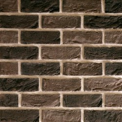 Traditional Brick & Stone Bembridge Antique 65mm Machine Made Stock Brown Heavy Texture Clay Brick