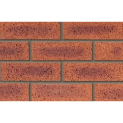 Butterley Hanson Berkshire Red Rustic 65mm Wirecut Extruded Red Light Texture Brick