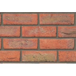 Butterley Hanson Canterbury Multi Stock 65mm Machine Made Stock Red Light Texture Brick