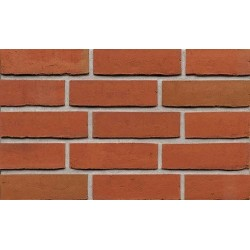 BEA Clay Products Sexton Torch Red 51mm Waterstruck Slop Mould Red Light Texture Brick