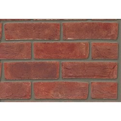 Butterley Hanson Capel Dark Multi Stock 65mm Machine Made Stock Red Light Texture Brick