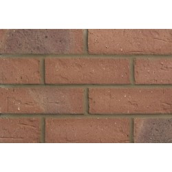 Butterley Hanson Cheshire Red Multi 65mm Wirecut Extruded Red Light Texture Clay Brick