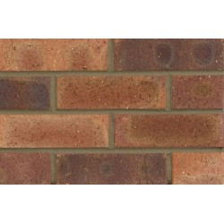 Butterley Hanson Edwardian Dragfaced 65mm Wirecut Extruded Red Light Texture Clay Brick