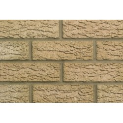 Butterley Hanson Golden Multiruf 65mm Wirecut Extruded Buff Heavy Texture Clay Brick