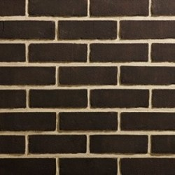 Traditional Brick & Stone Black Stock 65mm Machine Made Stock Black Light Texture Clay Brick