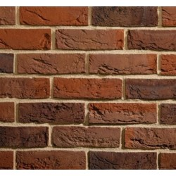 Traditional Brick & Stone Burntwood Mixture 65mm Machine Made Stock Red Light Texture Clay Brick