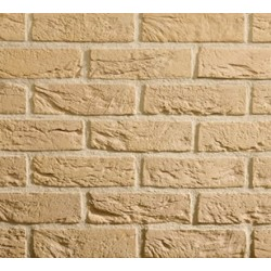 Traditional Brick & Stone Cambourne Buff 65mm Machine Made Stock Buff Heavy Texture Clay Brick