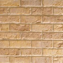 Traditional Brick & Stone Cambridgeshire Weathered Buff 65mm Machine Made Stock Buff Light Texture Clay Brick