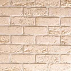 Traditional Brick & Stone City White 65mm Machine Made Stock Buff Light Texture Clay Brick